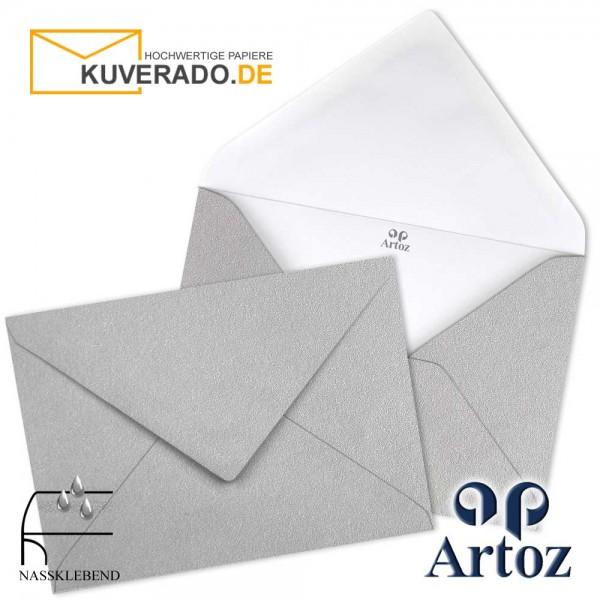 Artoz Mosaic metallic Briefumschläge in silber DIN C7