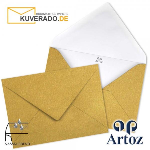 Artoz Mosaic metallic Briefumschläge in gold DIN C7