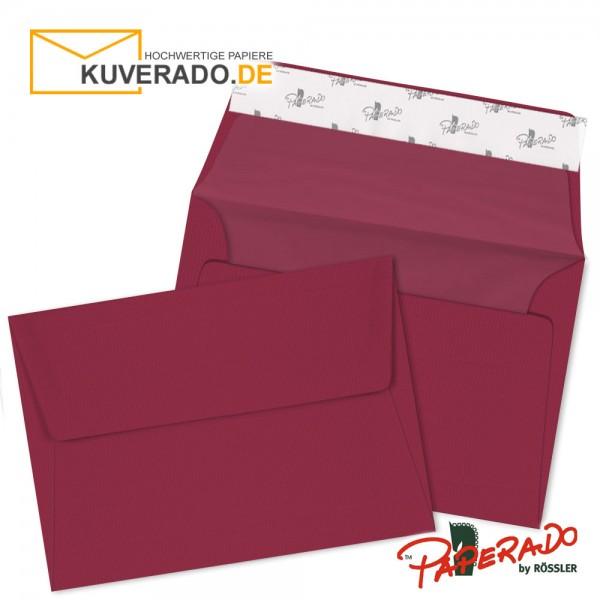 Paperado Briefumschläge rosso DIN B6