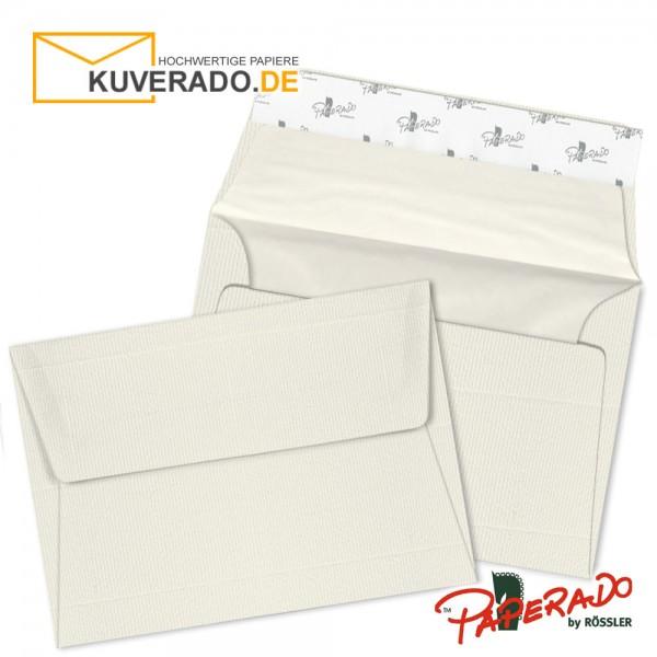 Paperado Briefumschläge ivory DIN C6