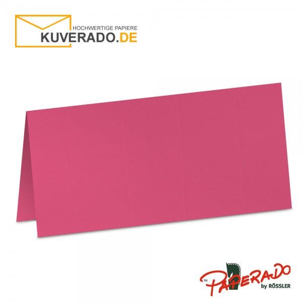 Paperado Tischkarten in fuchsia-rosa