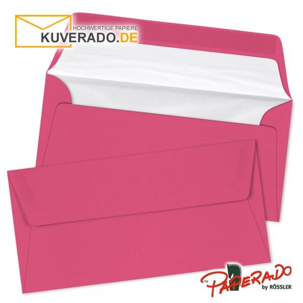 Paperado Briefumschläge in rosa / fuchsia DIN lang