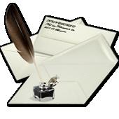 Briefumschläge aus echt Bütten