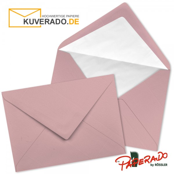 Paperado Briefumschläge in rosen rosa 157x225 mm