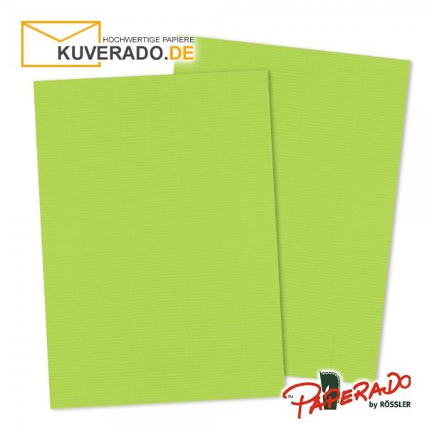 Paperado Briefpapier in maigrün DIN A4 160 g/qm