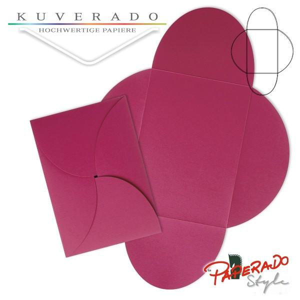 PAPERADO Style - Flügelkarte in amarena