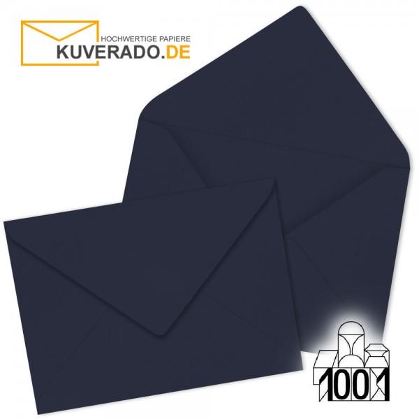 Artoz 1001 Briefumschläge navy-blau 75x110 mm