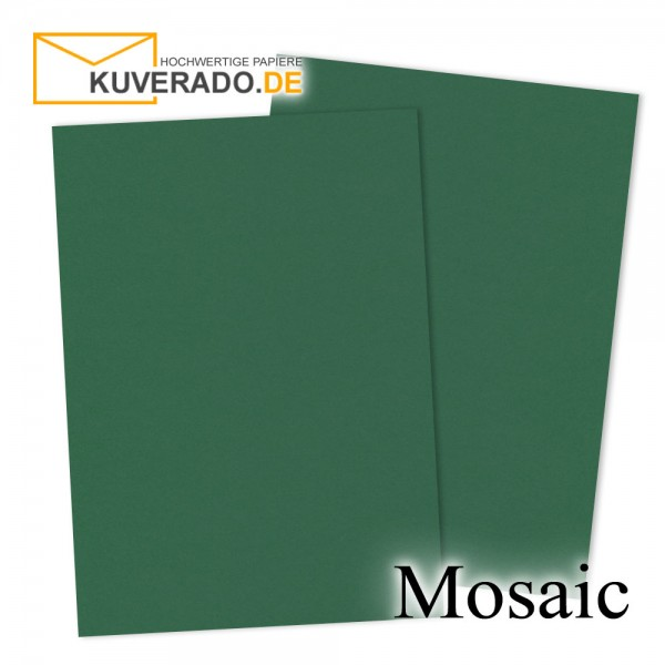 Artoz Mosaic tannengrün Karten DIN A7