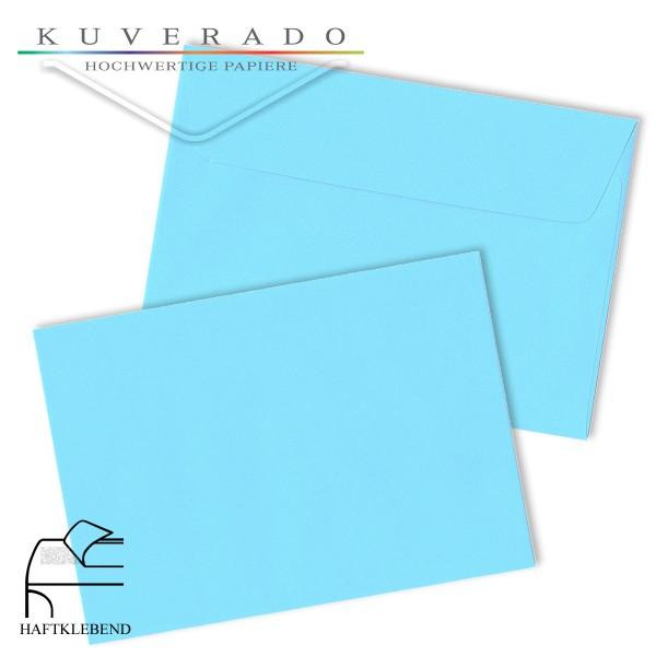 Hellblaue Briefumschläge im Format DIN C5