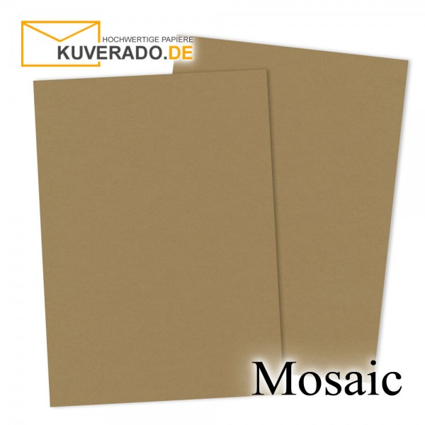 Artoz Mosaic naturbrauner Briefkarton DIN A4