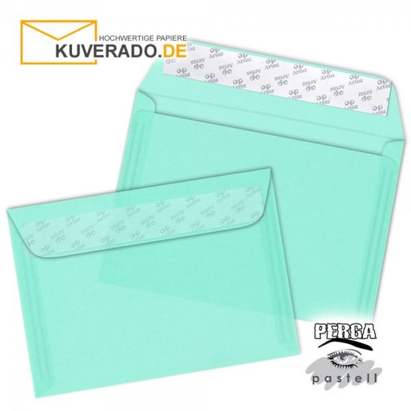 Artoz transparente Briefumschläge seegrün DIN B6