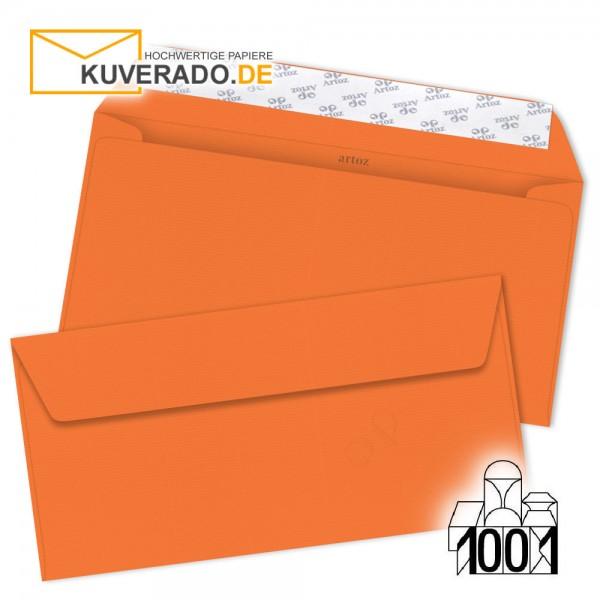 Artoz Briefumschläge mandarin-orange DIN lang