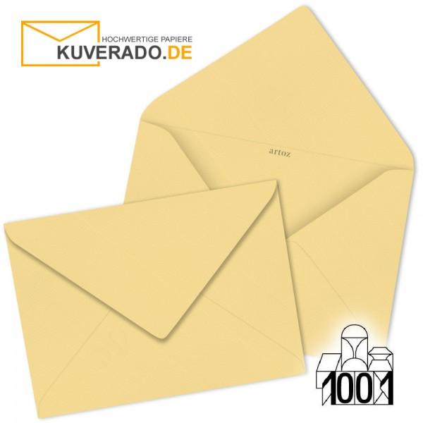 Artoz 1001 Briefumschläge honiggelb 75x110 mm