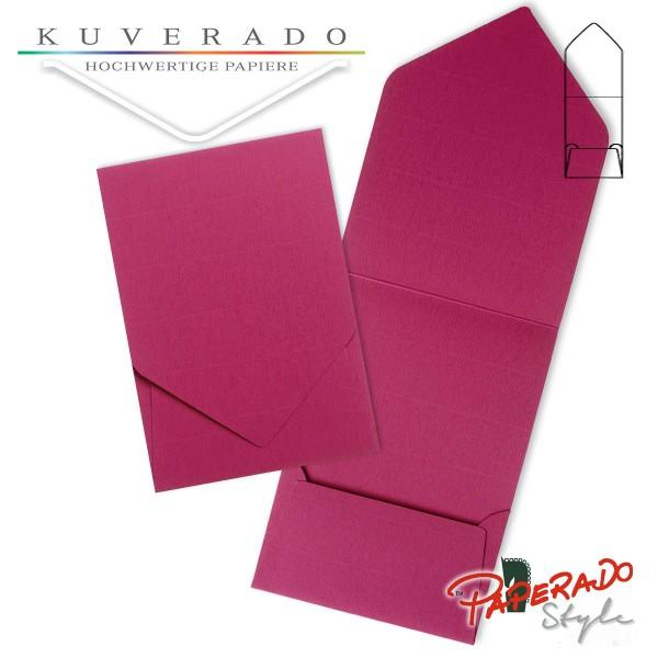 PAPERADO Style - Aufklappkarte in amarena