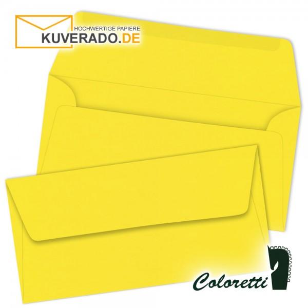 Goldgelbe DIN lang Briefumschläge von Coloretti