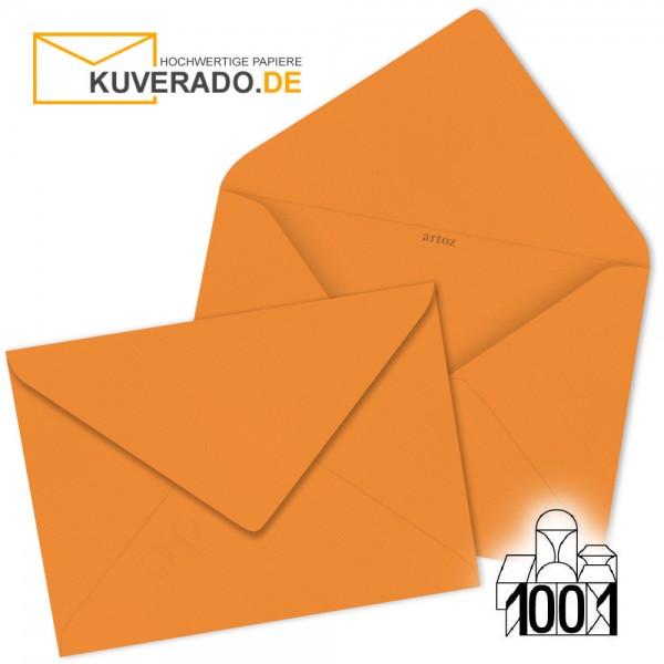 Artoz Briefumschläge orange DIN B6