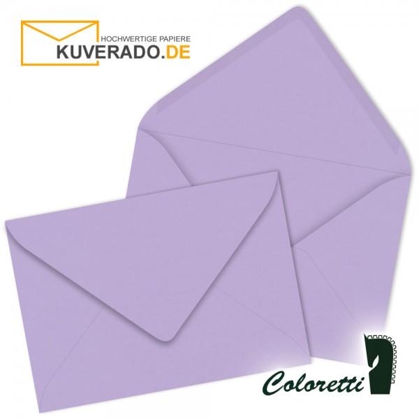 Lila DIN C6 Briefumschläge in lavendel von Coloretti