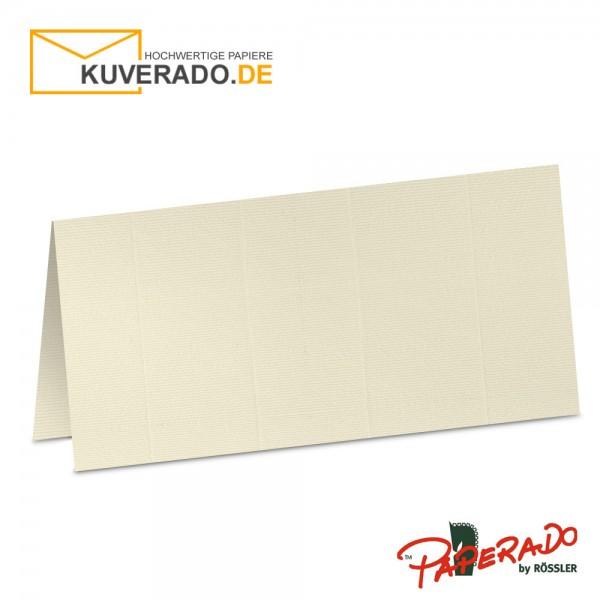 Paperado Tischkarten in chamois