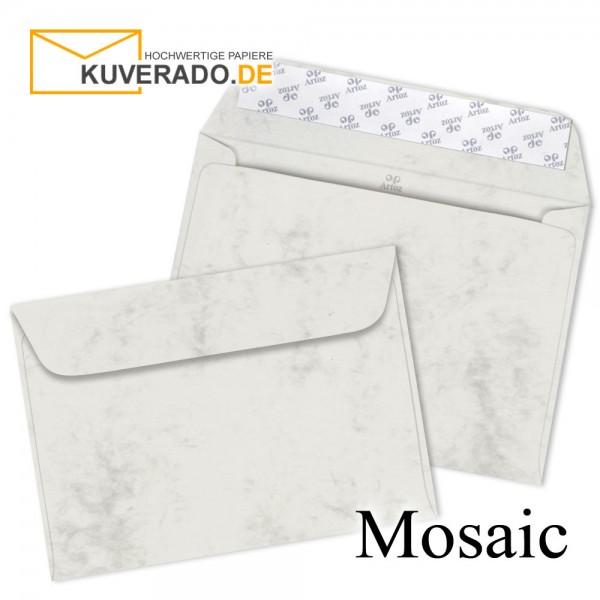 Artoz Mosaic marmorierte Briefumschläge in grau DIN C6