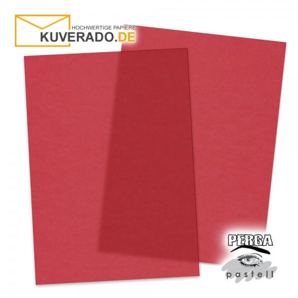 Artoz transparentes Briefpapier kirschrot DIN A4