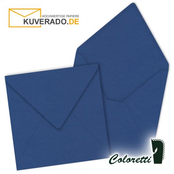 Jeansblaue Briefumschläge in quadratisch von Coloretti