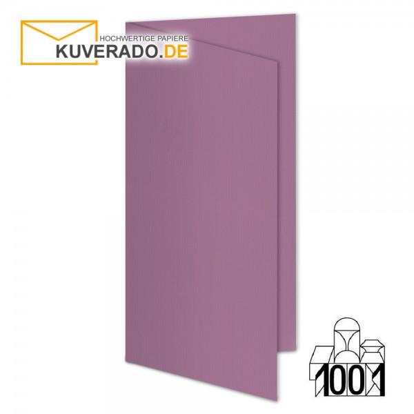 Artoz 1001 Faltkarten holunder DIN lang Hochformat mit Wasserzeichen
