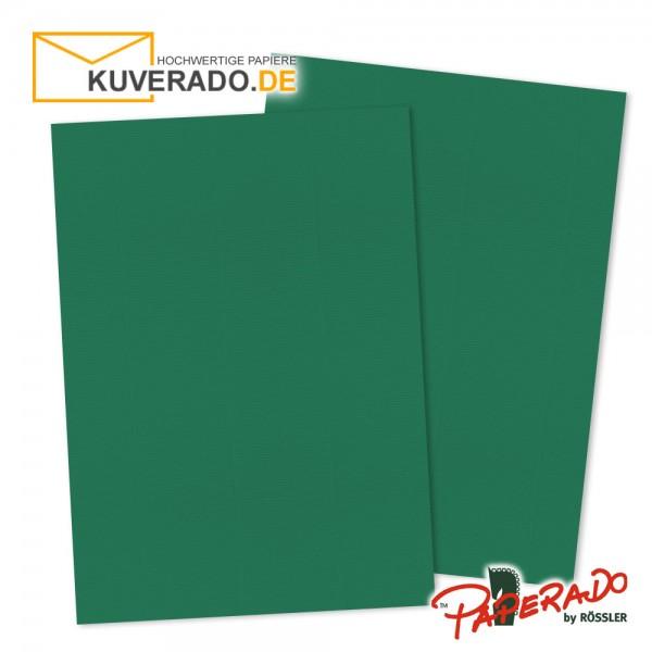 Paperado Briefkarton in tannengrün DIN A4 220 g/qm