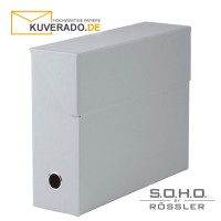 "S.O.H.O. Archivbox in der Farbe ""stone"""