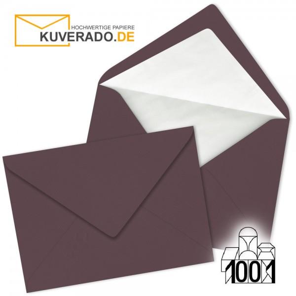 Artoz Briefumschläge dunkelrot DIN C5