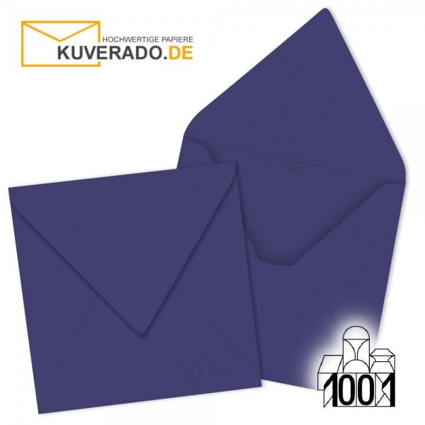 Artoz 1001 Briefumschläge indigo blau quadratisch 135x135 mm