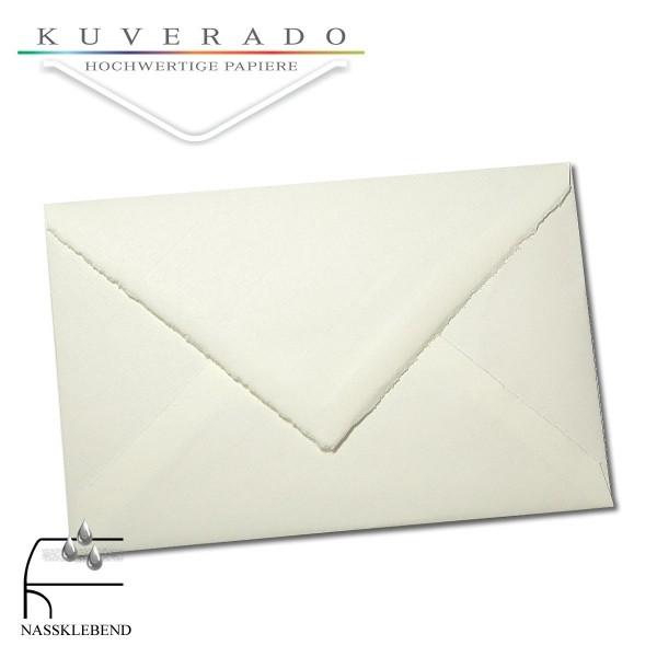 Briefumschläge aus Büttenpapier im Sonderformat 107x170 mm