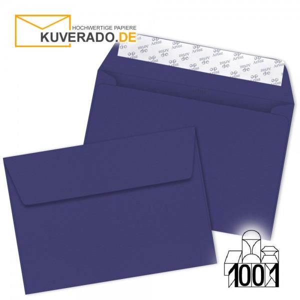 Artoz 1001 Briefumschläge indigo blau DIN C6