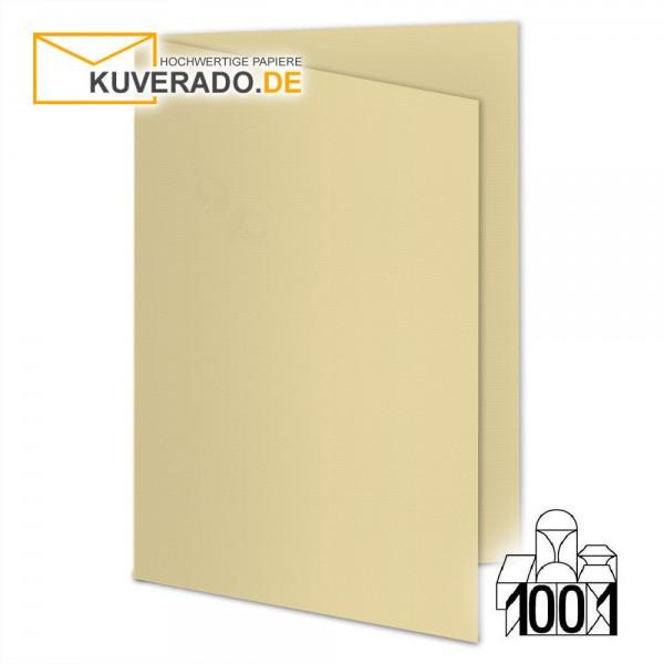 Artoz 1001 Faltkarten baileys beige DIN B6 mit Wasserzeichen