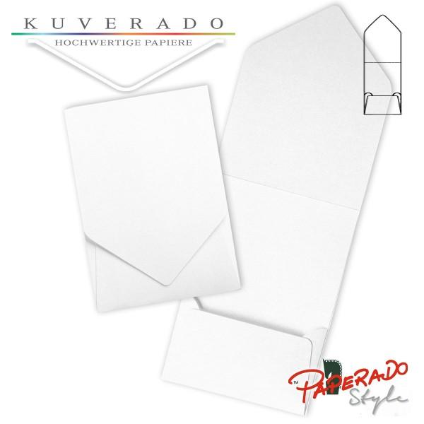 PAPERADO Style - Aufklappkarte in weiß