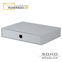 """S.O.H.O. Schubladenbox für DIN A4 in der Farbe """"stone"""""""