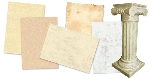marmoriertes Papier
