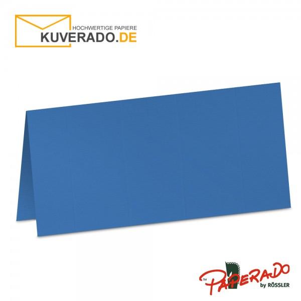 Paperado Tischkarten in stahlblau