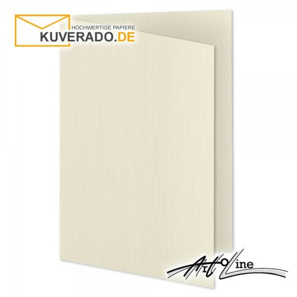 Artoz Artoline Karten/Doppelkarten in zabaione-beige DIN A5