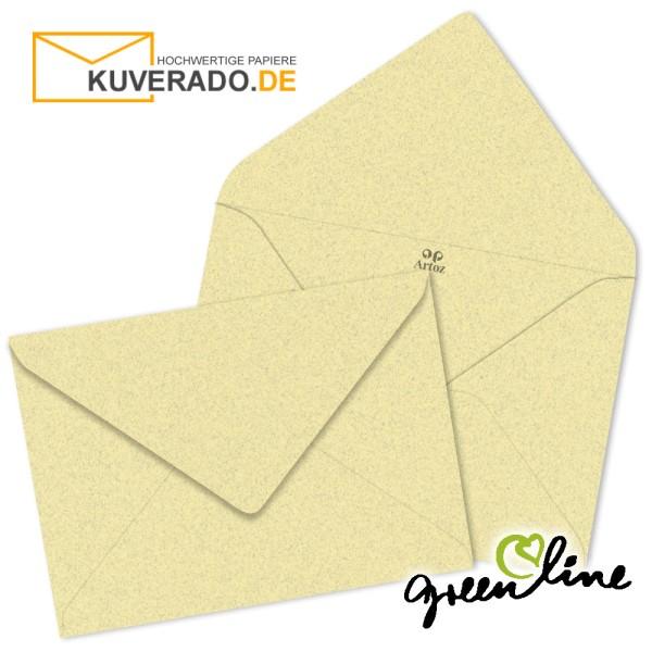 ARTOZ Greenline pastell | Recycling Briefumschläge in misty-yellow DIN B6