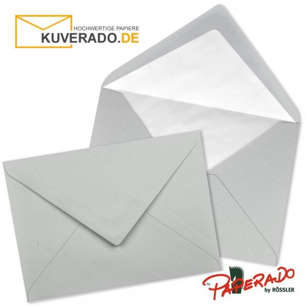 Paperado Briefumschläge in eisgrau DIN C7