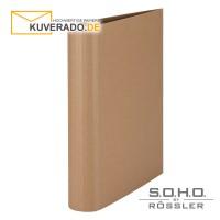 """S.O.H.O. Ringbuch mit 50mm Füllhöhe in der Farbe """"kraft"""""""