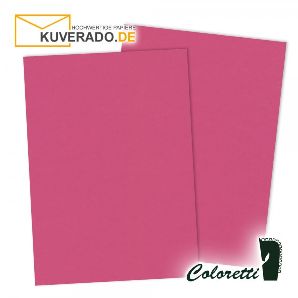 Rosa Briefpapier in pink 80 g/qm von Coloretti