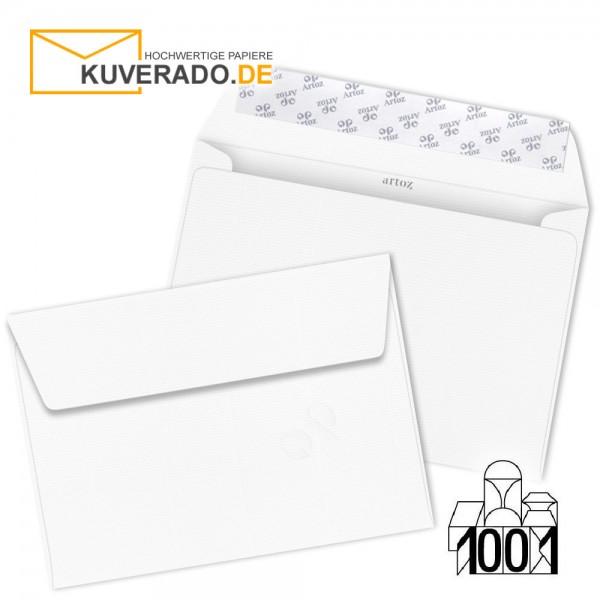 Artoz 1001 Briefumschläge Blütenweiß DIN C6