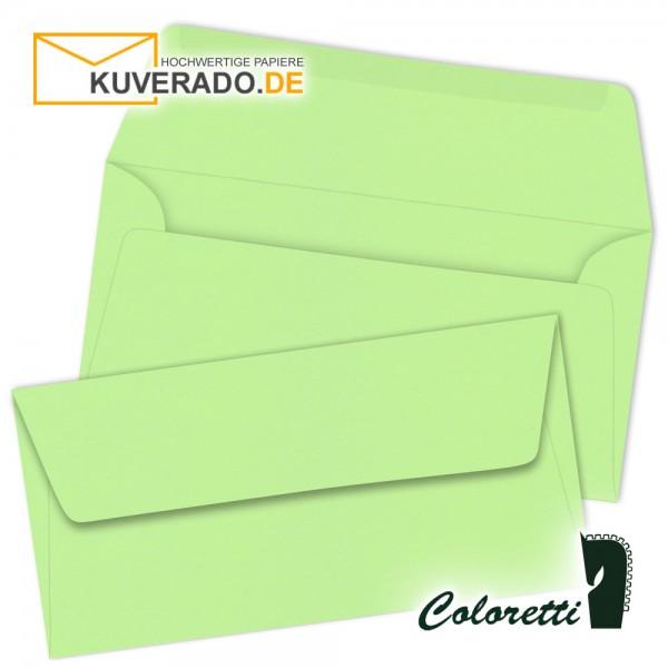 Peppermintgrüne DIN lang Briefumschläge von Coloretti