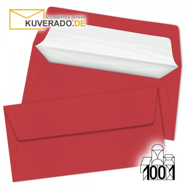 Artoz Briefumschläge rot DIN lang