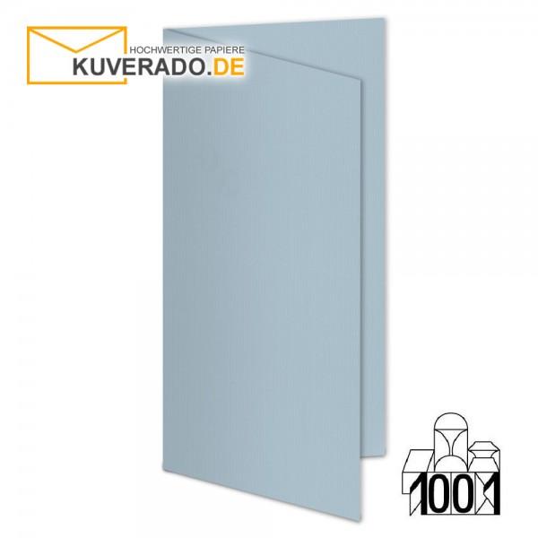 Artoz 1001 Faltkarten pastellblau DIN lang Hochformat mit Wasserzeichen