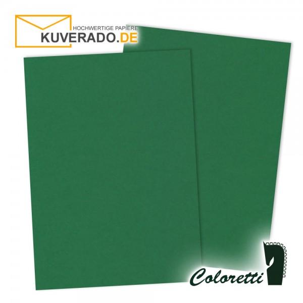 Grünes Briefpapier in forest 165 g/qm von Coloretti