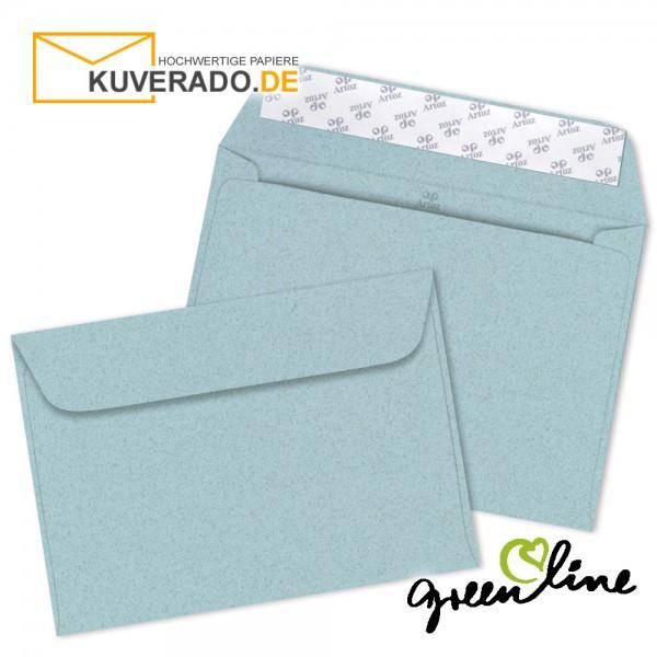ARTOZ Greenline pastell | Recycling Briefumschläge in misty-blue DIN C5