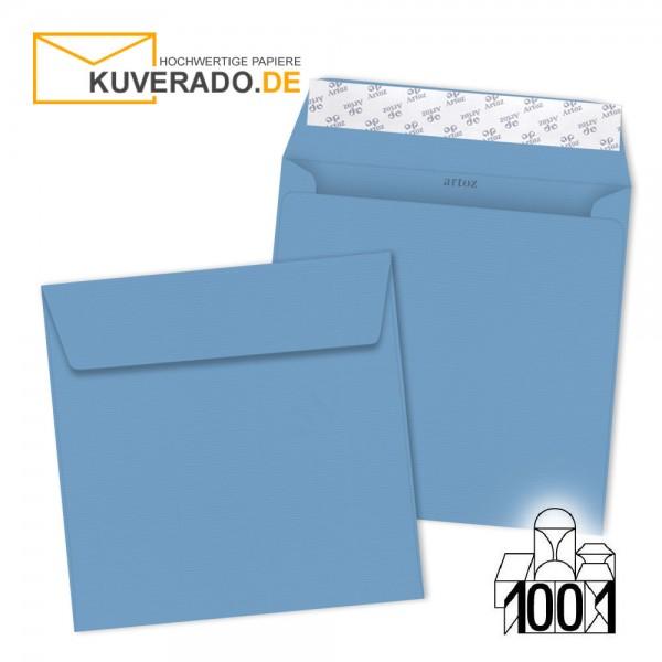 Artoz 1001 Briefumschläge marienblau quadratisch 160x160 mm