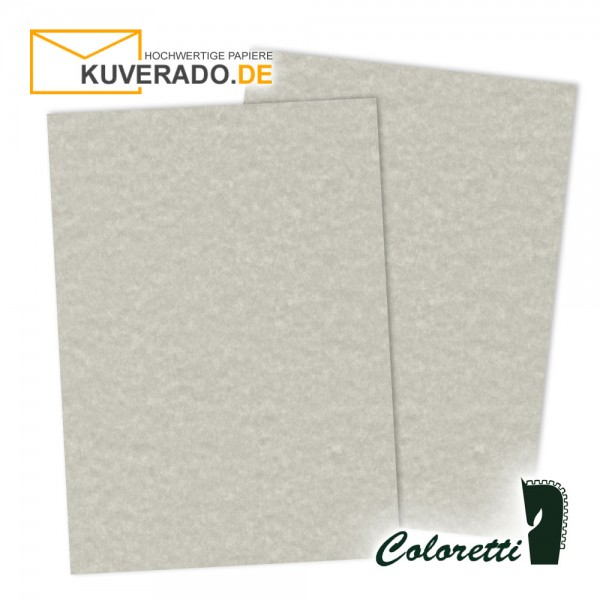 Marmoriertes Briefpapier in wolkengrau 165 g/qm von Coloretti
